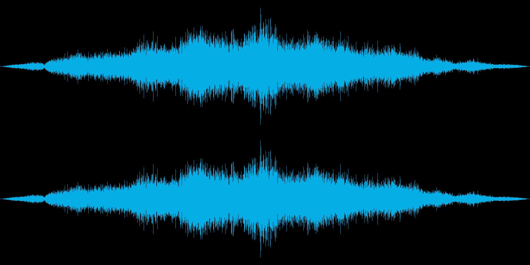 ゴシゴシ(たわしやモップで掃除する音)1の再生済みの波形