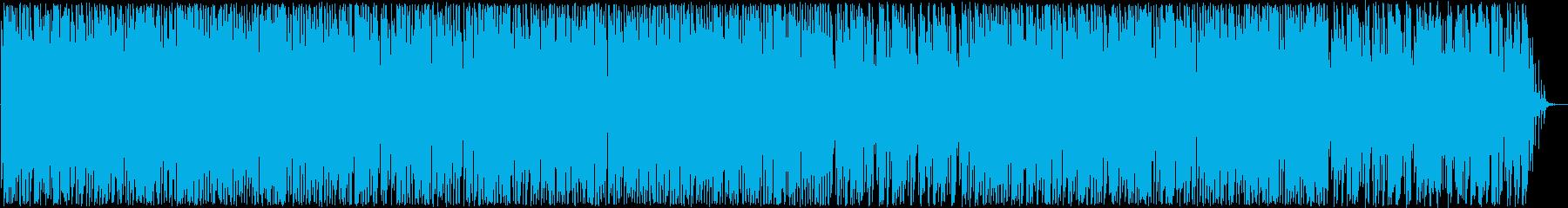 明るいラテン系トランペットなどのサウンドの再生済みの波形