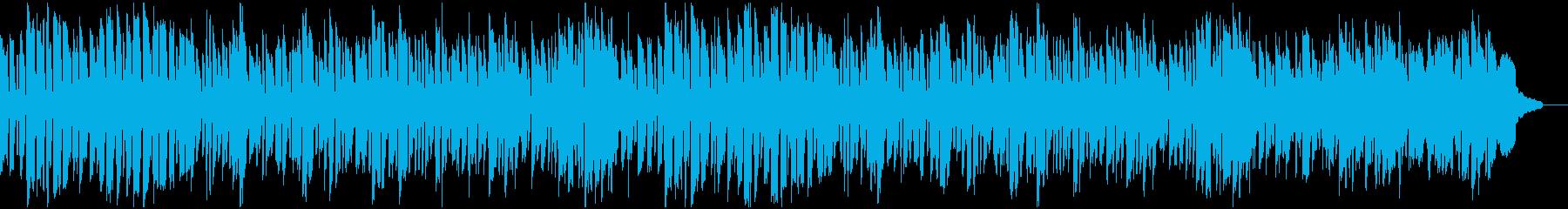 ほのぼのとした場面に合う劇伴/BGMの再生済みの波形