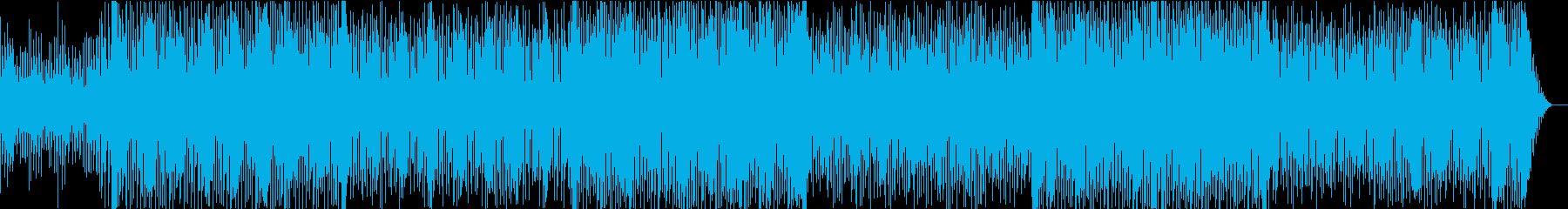 ゲーム音楽風何かが始まる時のエモトランスの再生済みの波形