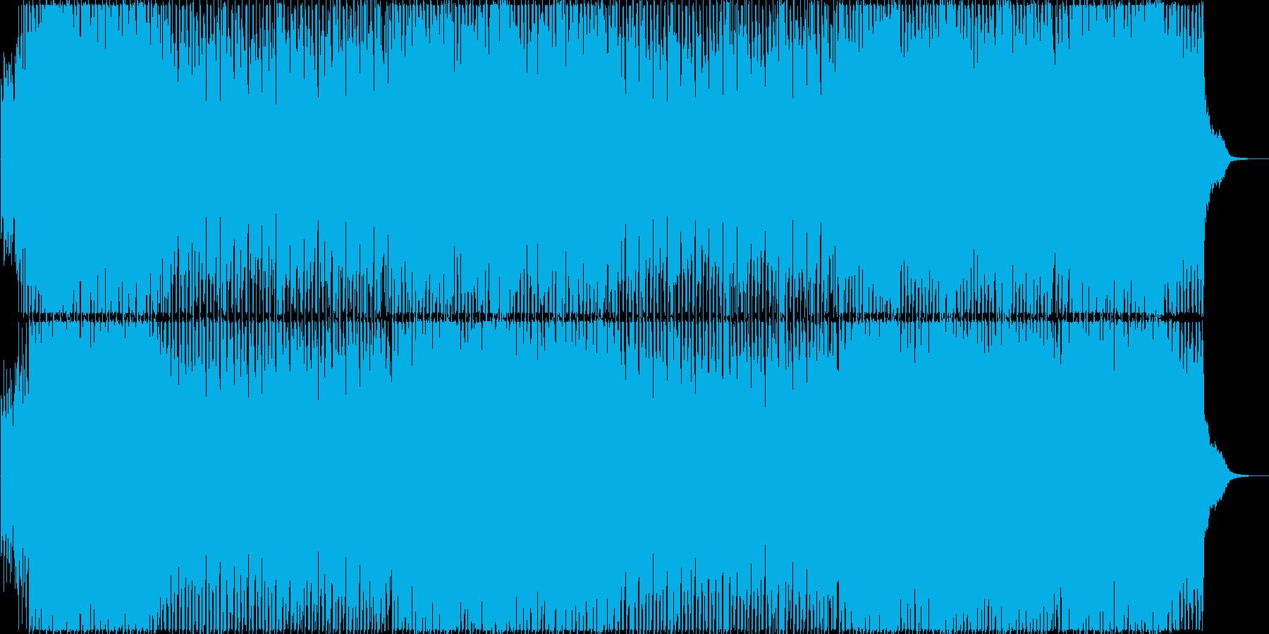 アコギとシンセの爽やかシンセポップの再生済みの波形