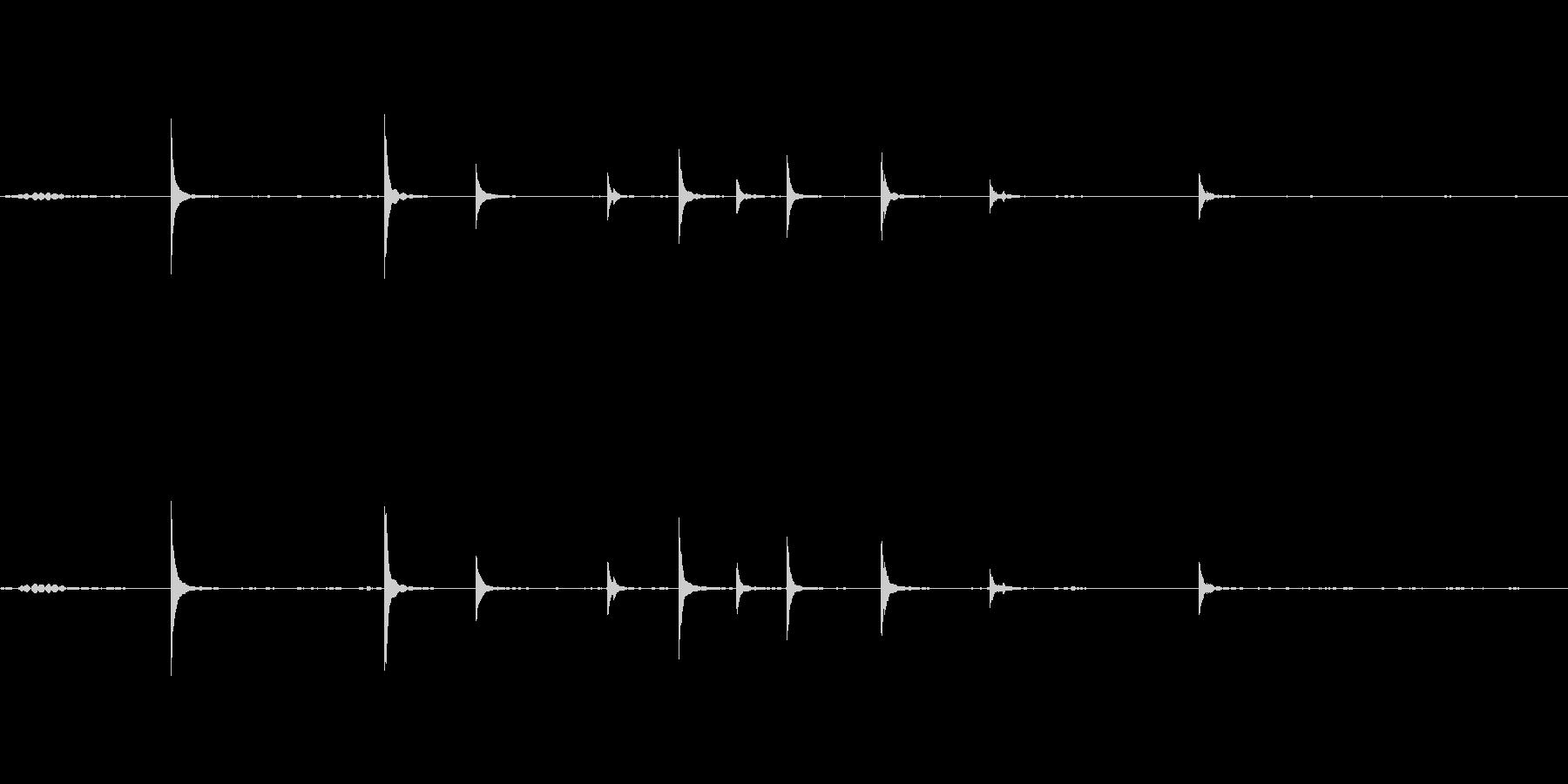 チリリン音が普通の風鈴と違いますの未再生の波形