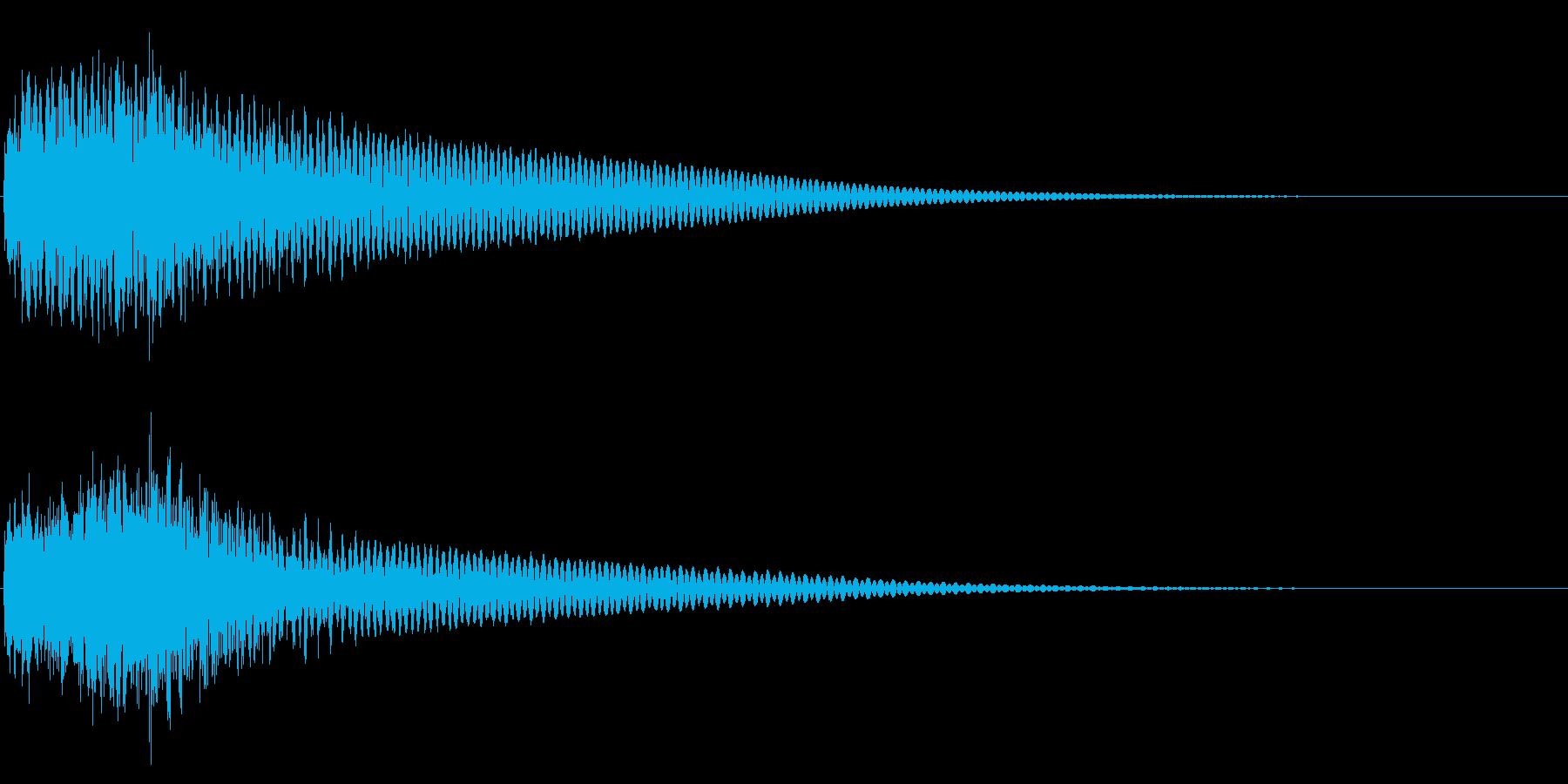 ジャジャン/クイズ/出題/問題の再生済みの波形