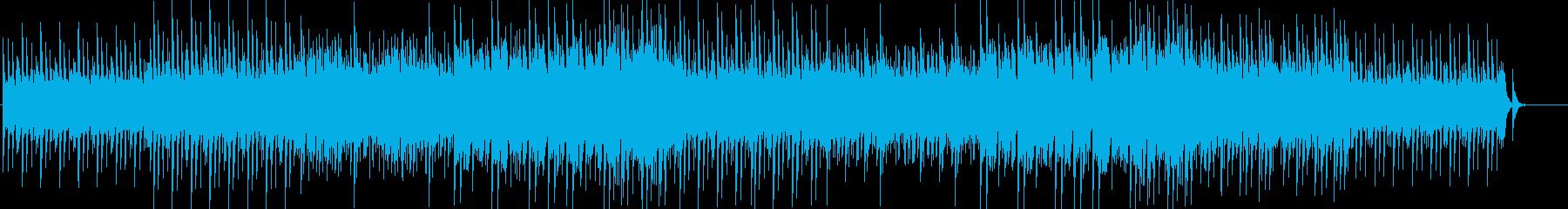 [弦なし]シンプルで洗練された雰囲気の曲の再生済みの波形