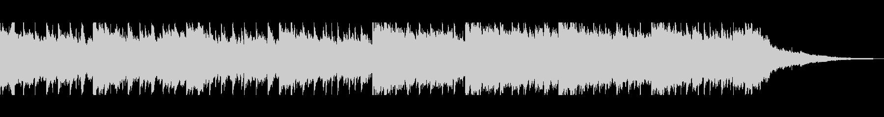 SNS動画広告向きピアノギター曲(短)の未再生の波形