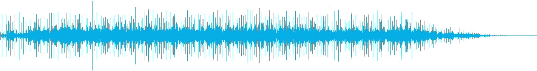 アコギによるブルースの再生済みの波形