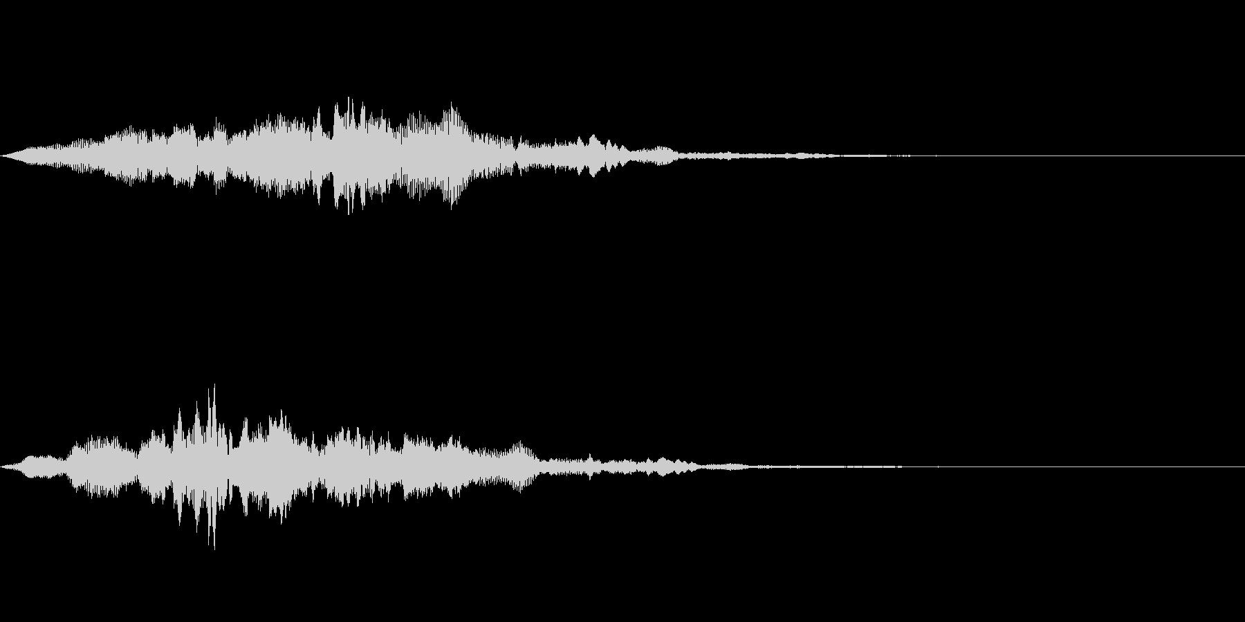 サウンドロゴ50_ストリング系の未再生の波形