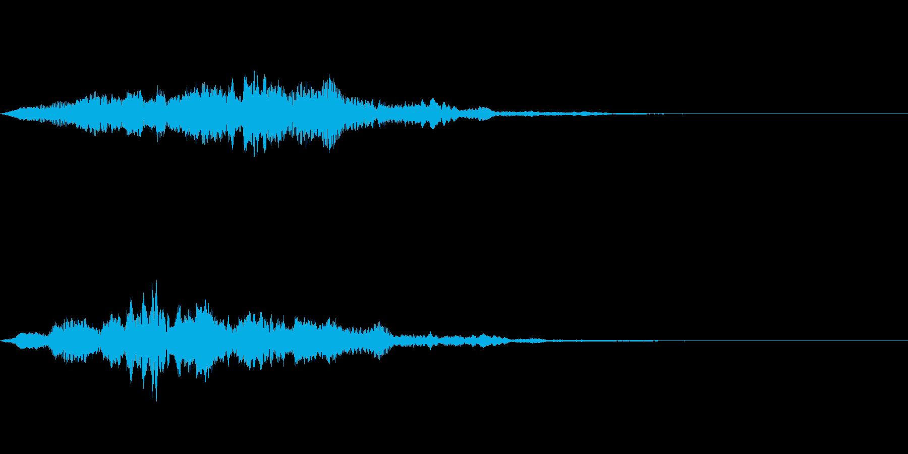 サウンドロゴ50_ストリング系の再生済みの波形