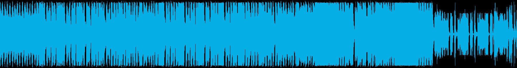 ロックンロールの原点から・ノリノリBGMの再生済みの波形