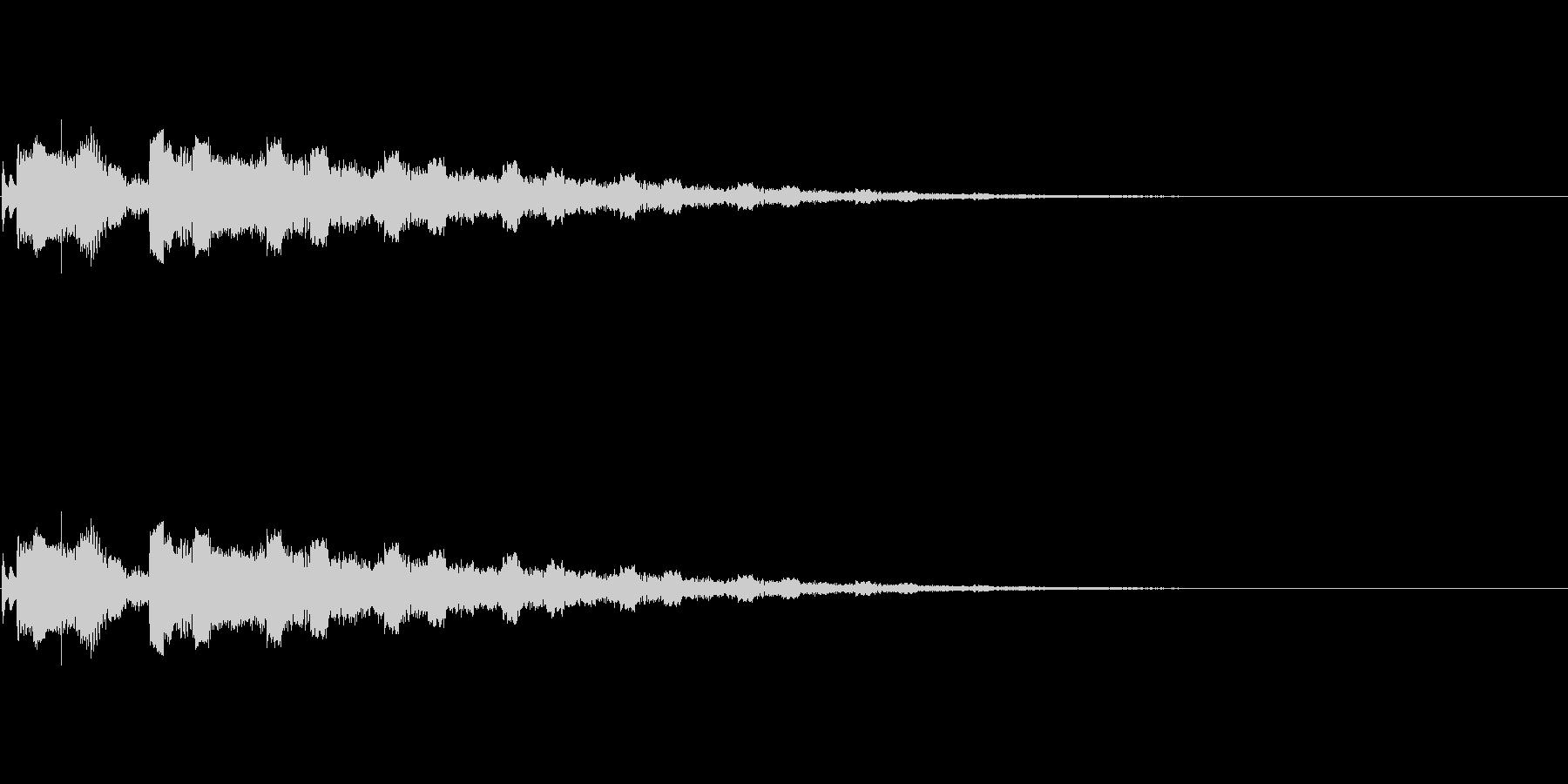 【SE 効果音】PC的な音2の未再生の波形