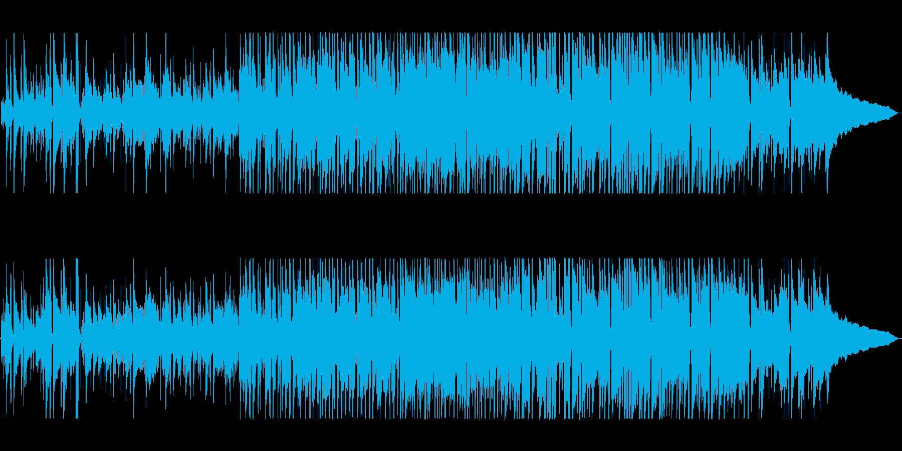 ほのぼのとあたたかいポップスの再生済みの波形