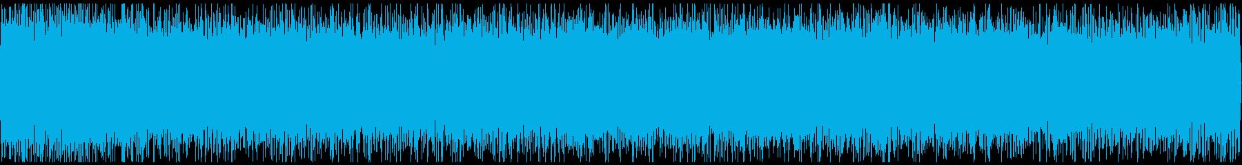 新幹線の中の騒音の環境音です。の再生済みの波形