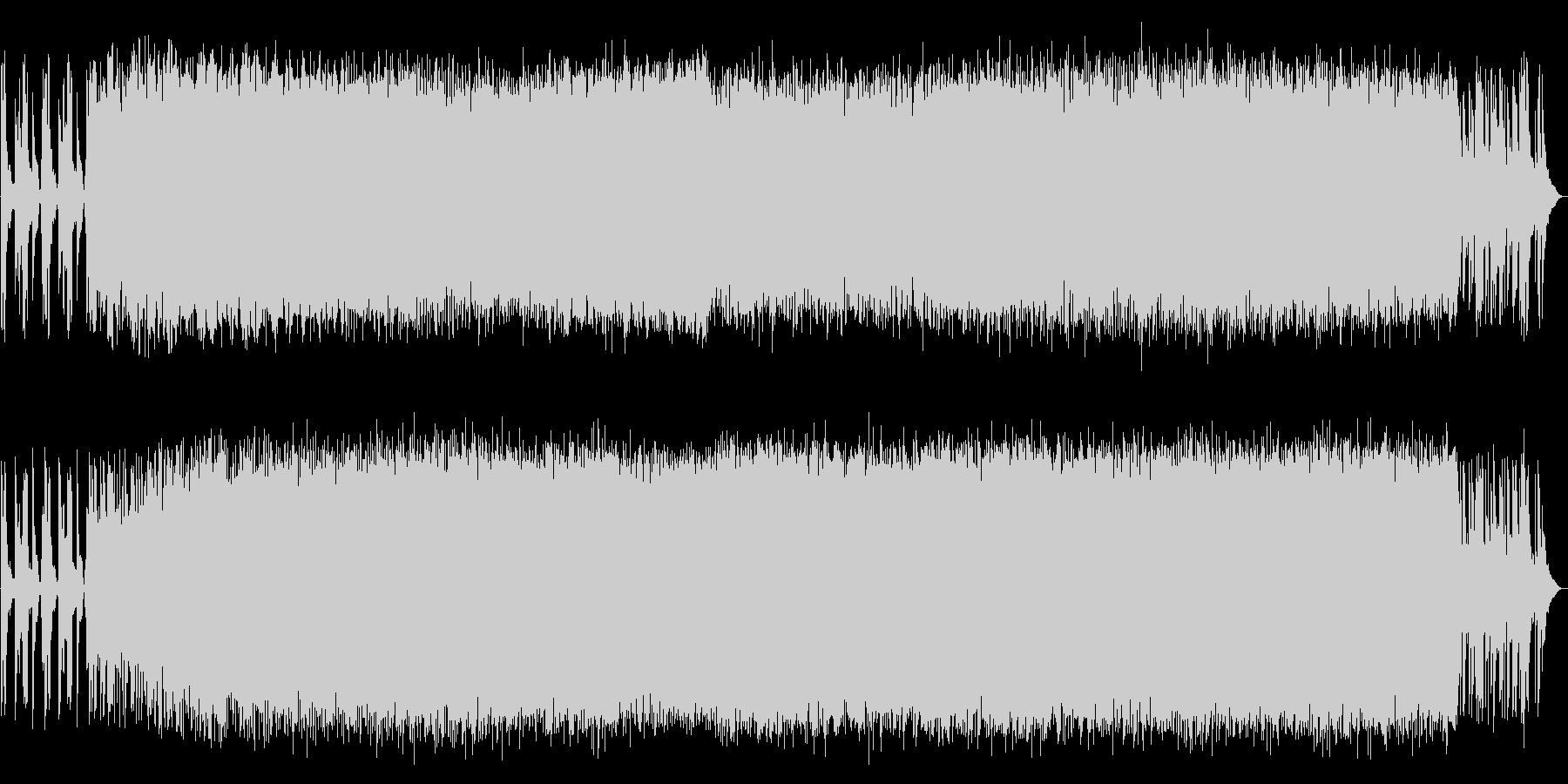 和太鼓を使ったアシッドテクノの未再生の波形