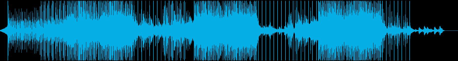 哀愁的なトロピカルハウスの再生済みの波形
