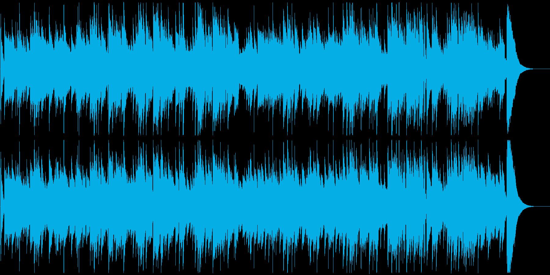 郷愁を誘う生演奏のギター/映像・CM向きの再生済みの波形