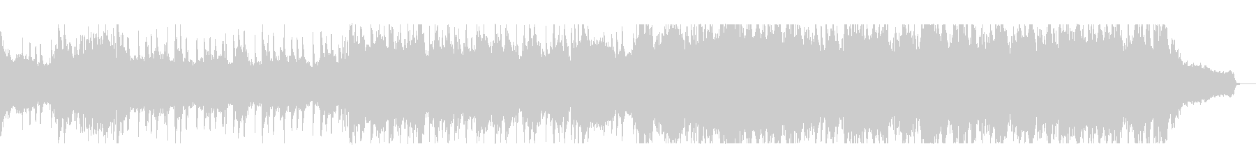 シリアスなバイオリンピアノサウンドの未再生の波形