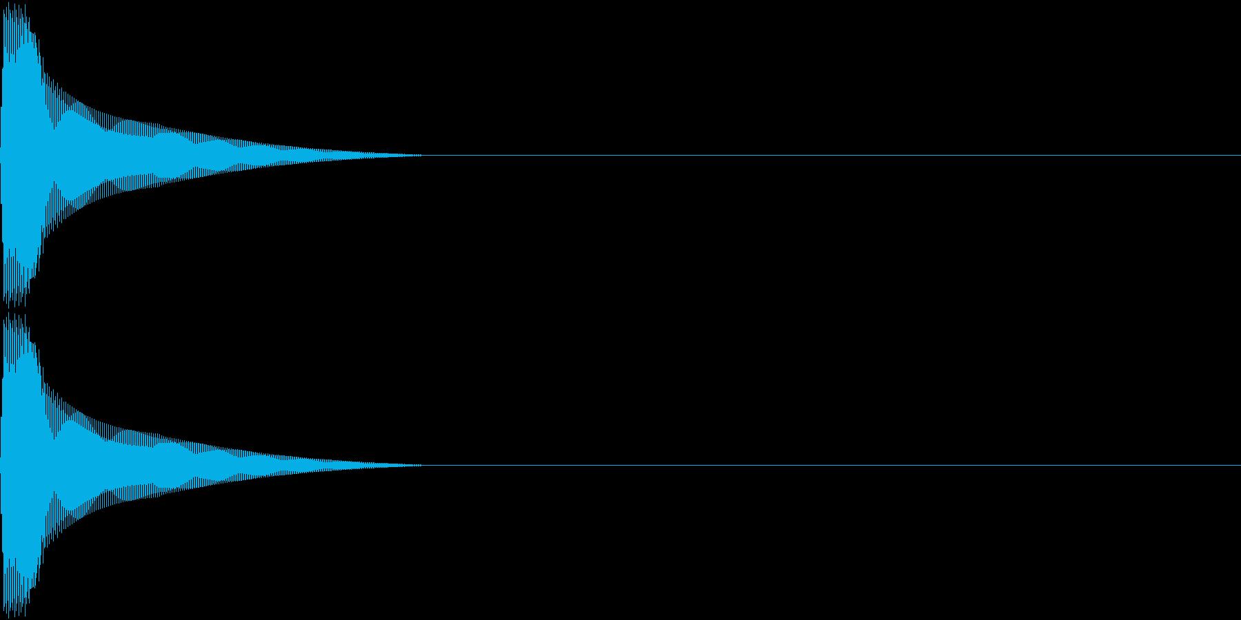 PureTouch アプリ用タッチ音 4の再生済みの波形