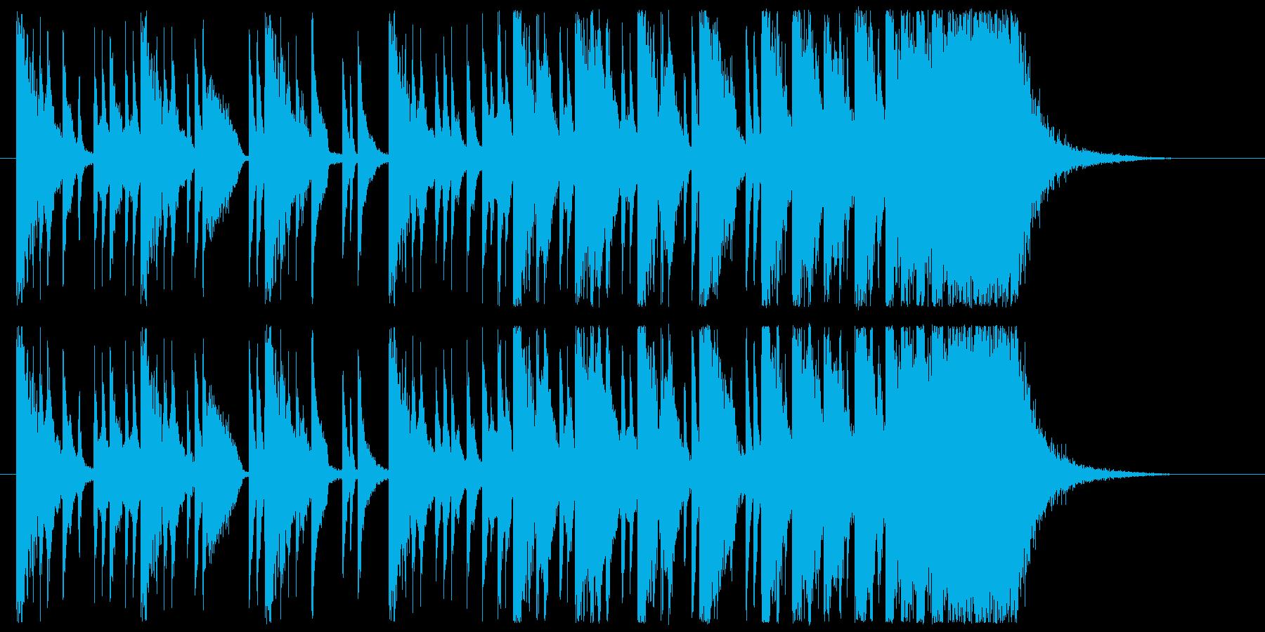 シンキングタイム、クイズコンテンツの再生済みの波形