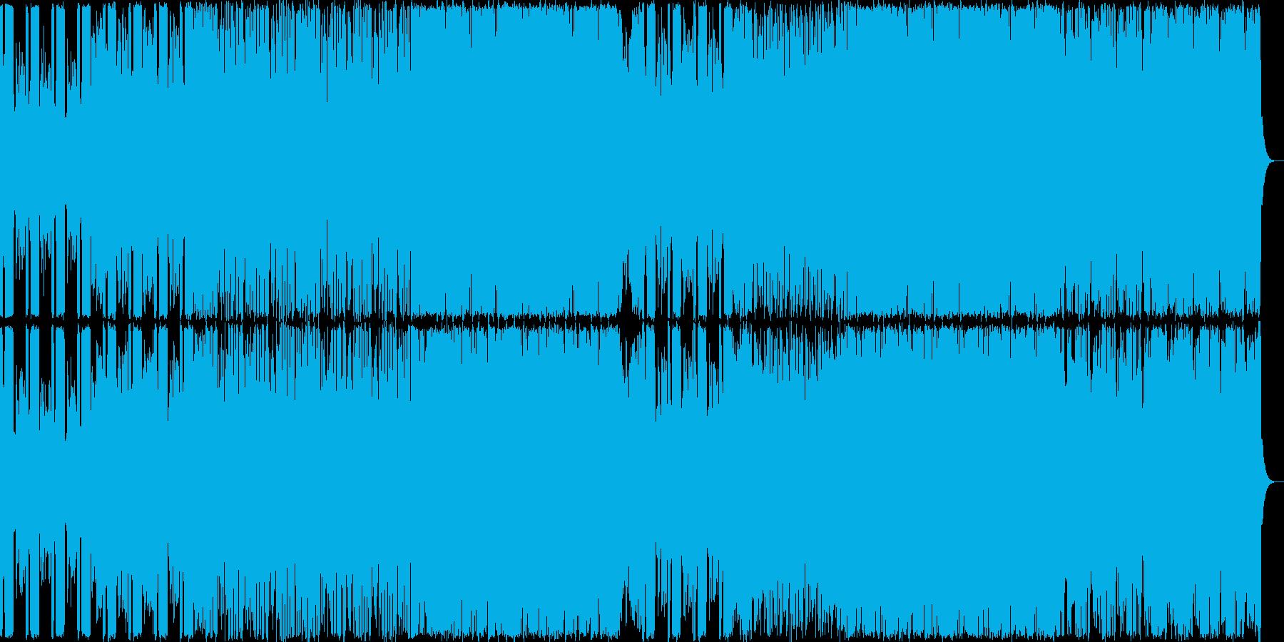 険しい山を演出したギター系の曲【RPG…の再生済みの波形