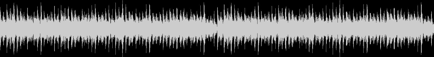 リズミカルなシンセリードが心地いいBGMの未再生の波形