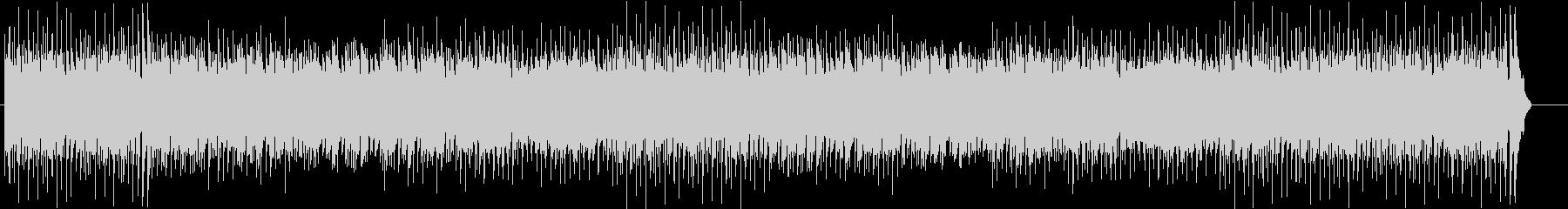 ほのぼのまったりしたカントリー調の曲の未再生の波形