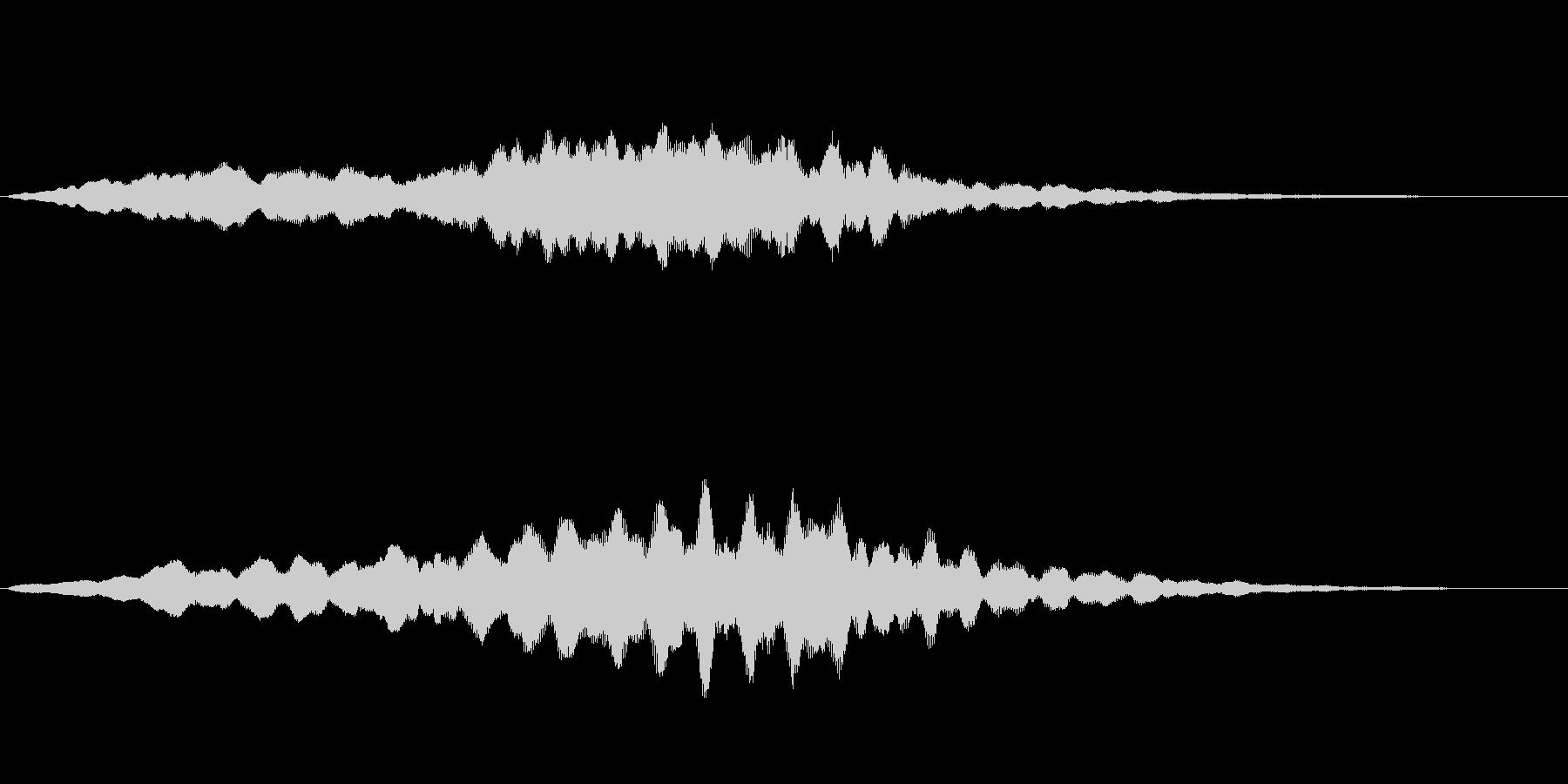 リラックスとしたバラードの未再生の波形