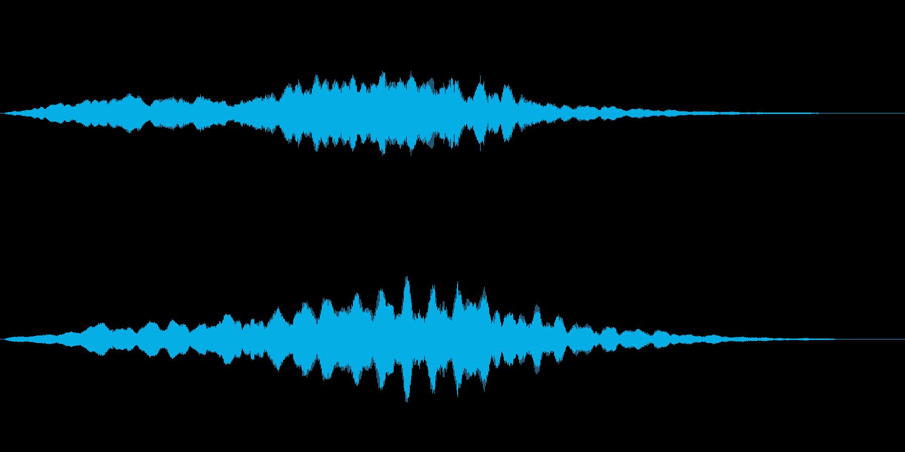 リラックスとしたバラードの再生済みの波形