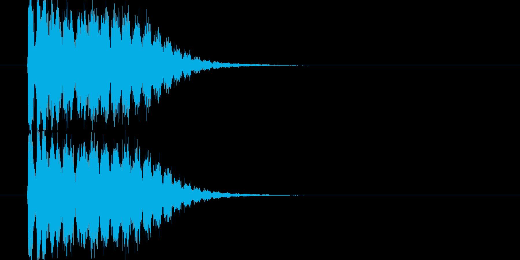 SF系高速移動の再生済みの波形