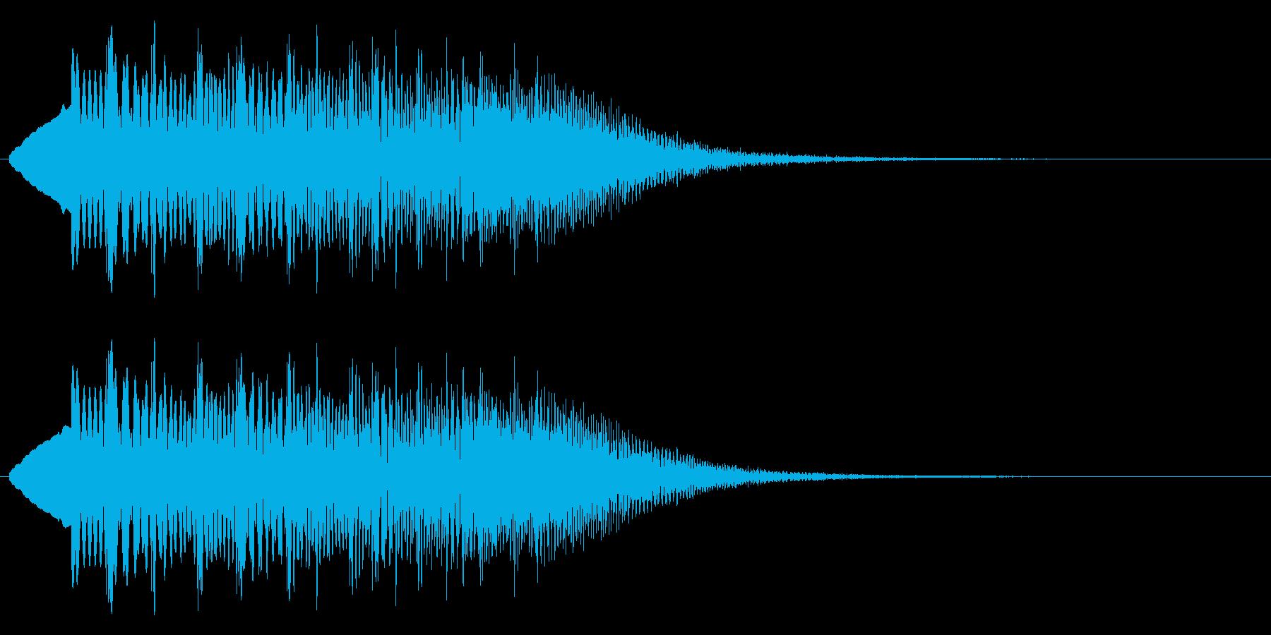 くるりんと回りたくなる音の再生済みの波形