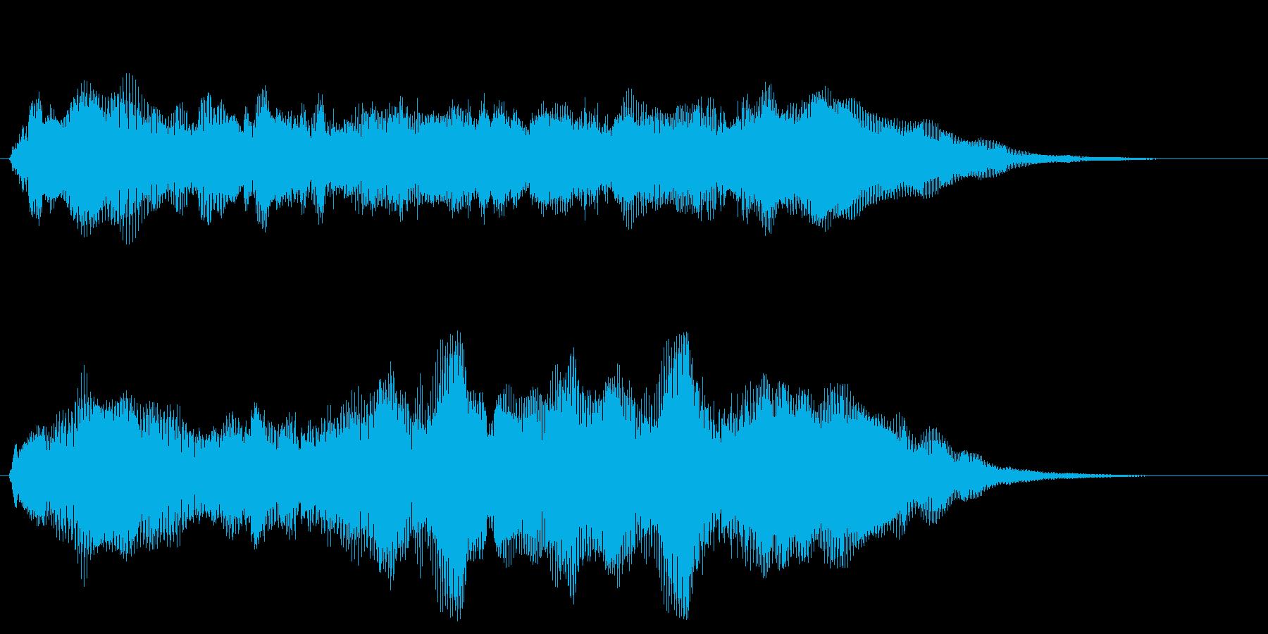 ファンファーレ シンプル版 トランペットの再生済みの波形