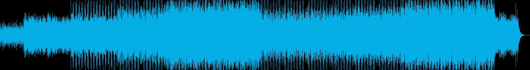 オープニングシーンなどに最適なBGMの再生済みの波形