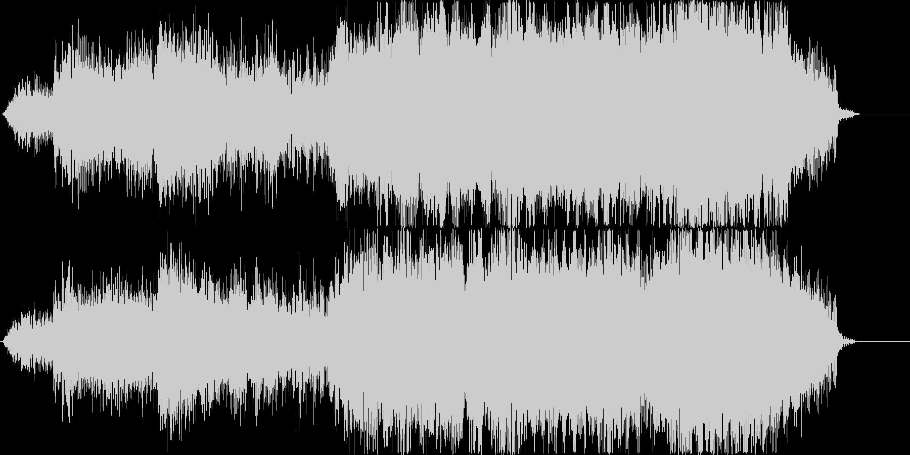 エネルギー充填音ぽいシンセの未再生の波形