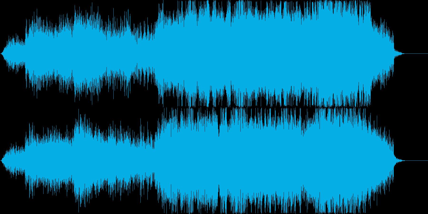 エネルギー充填音ぽいシンセの再生済みの波形