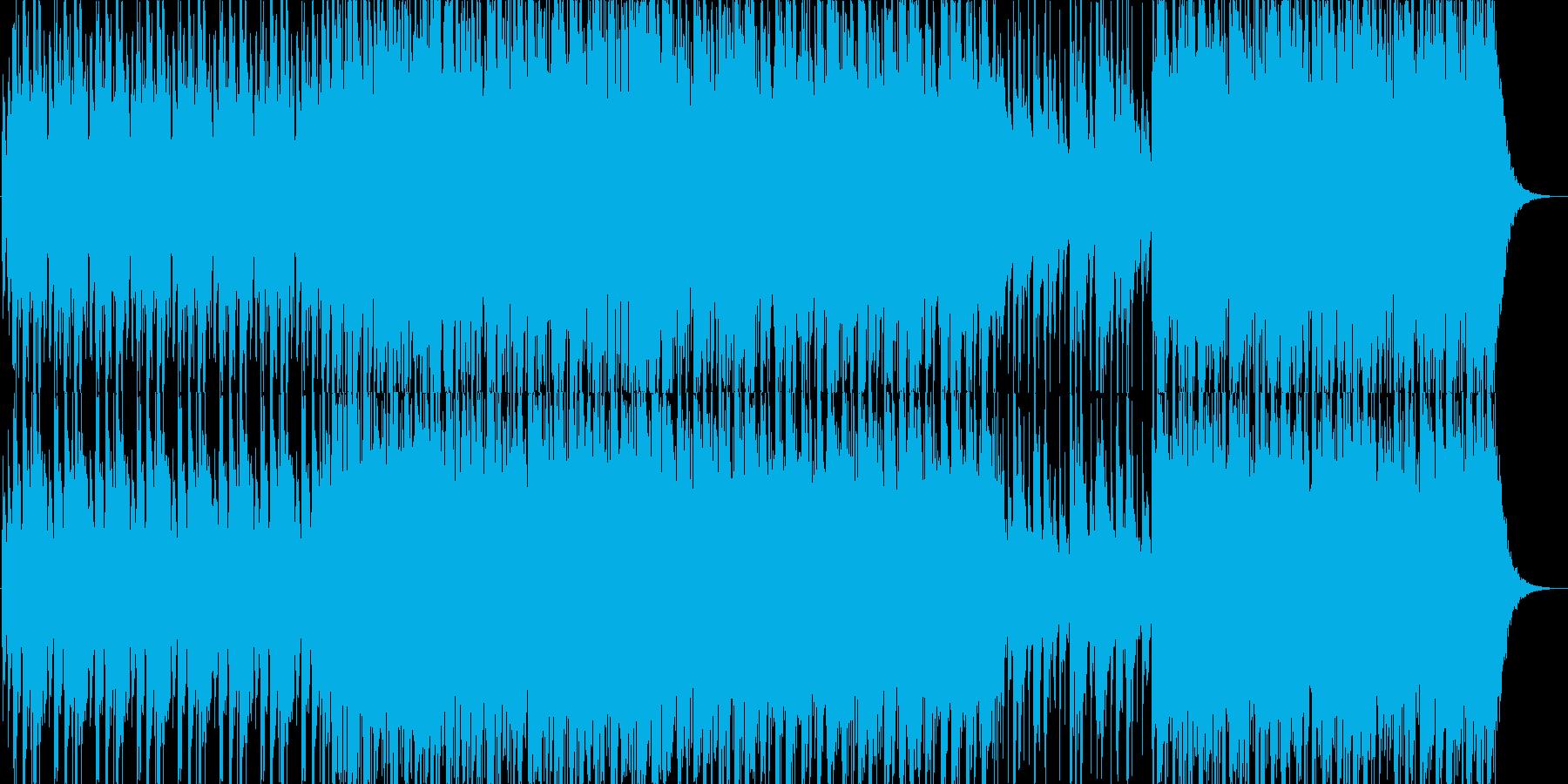 太鼓をメインに作成しました。の再生済みの波形