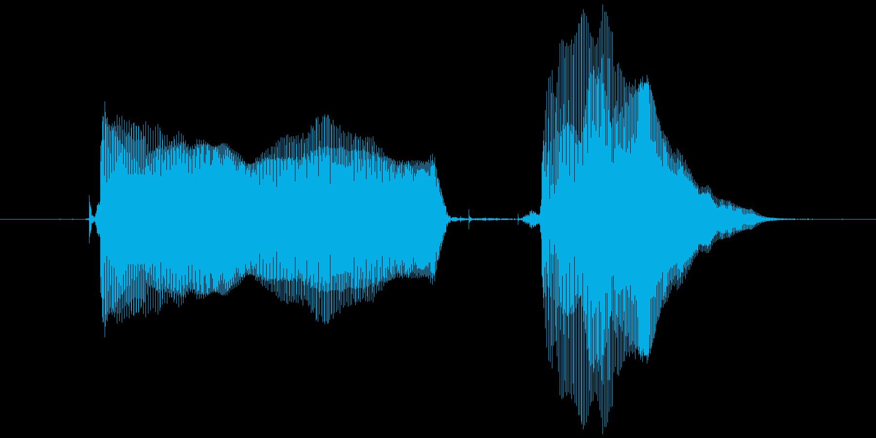 おにいちゃん♪の再生済みの波形