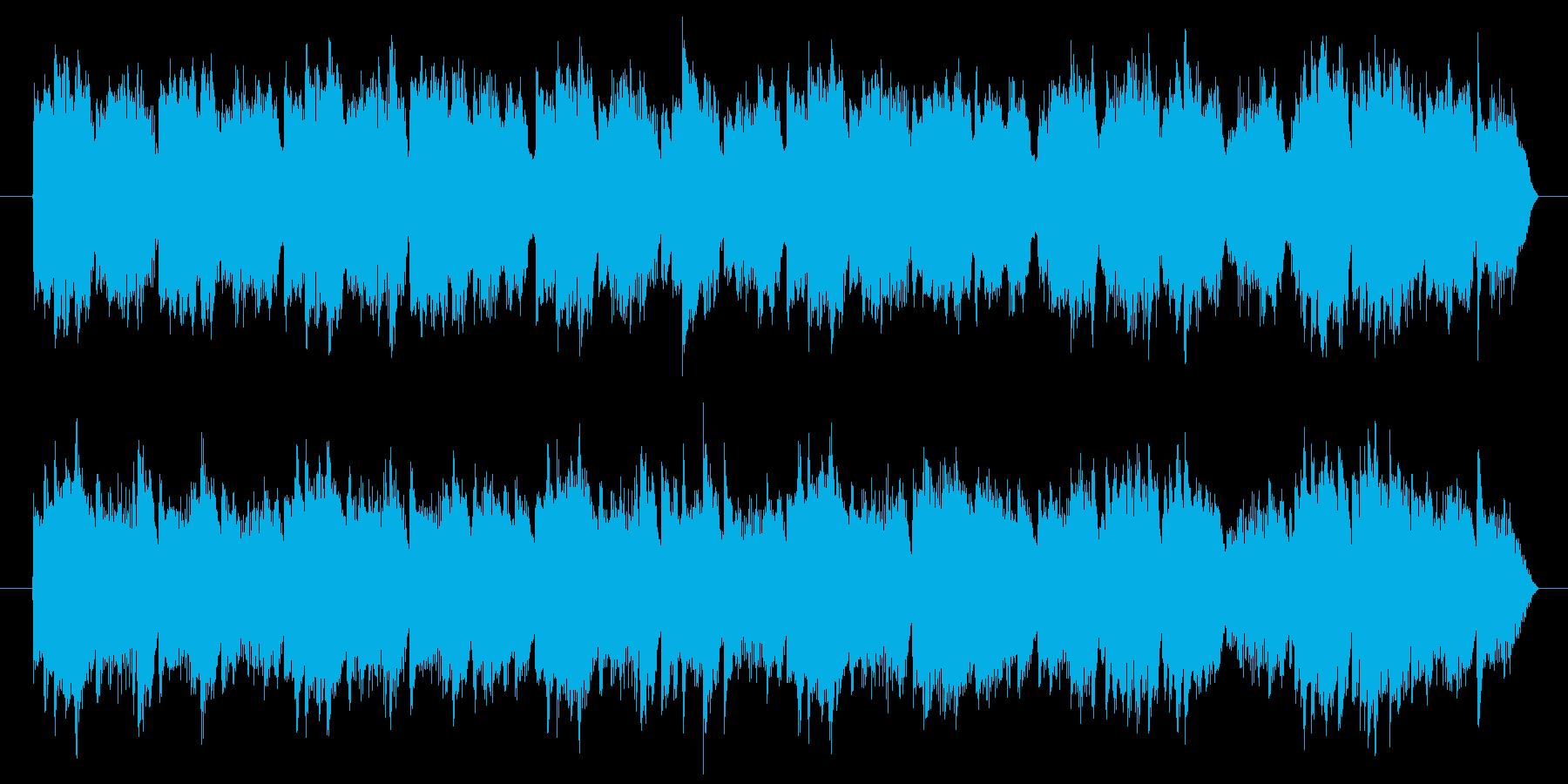 様々な用途に使える優雅なピアノソロ曲の再生済みの波形