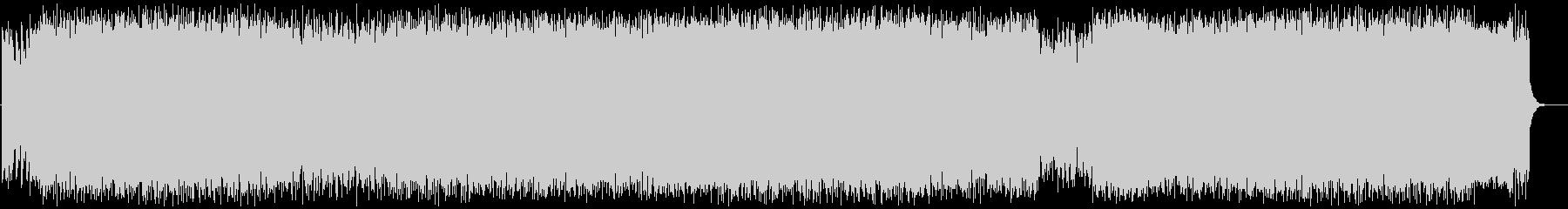切ないミディアムテンポのロックの未再生の波形