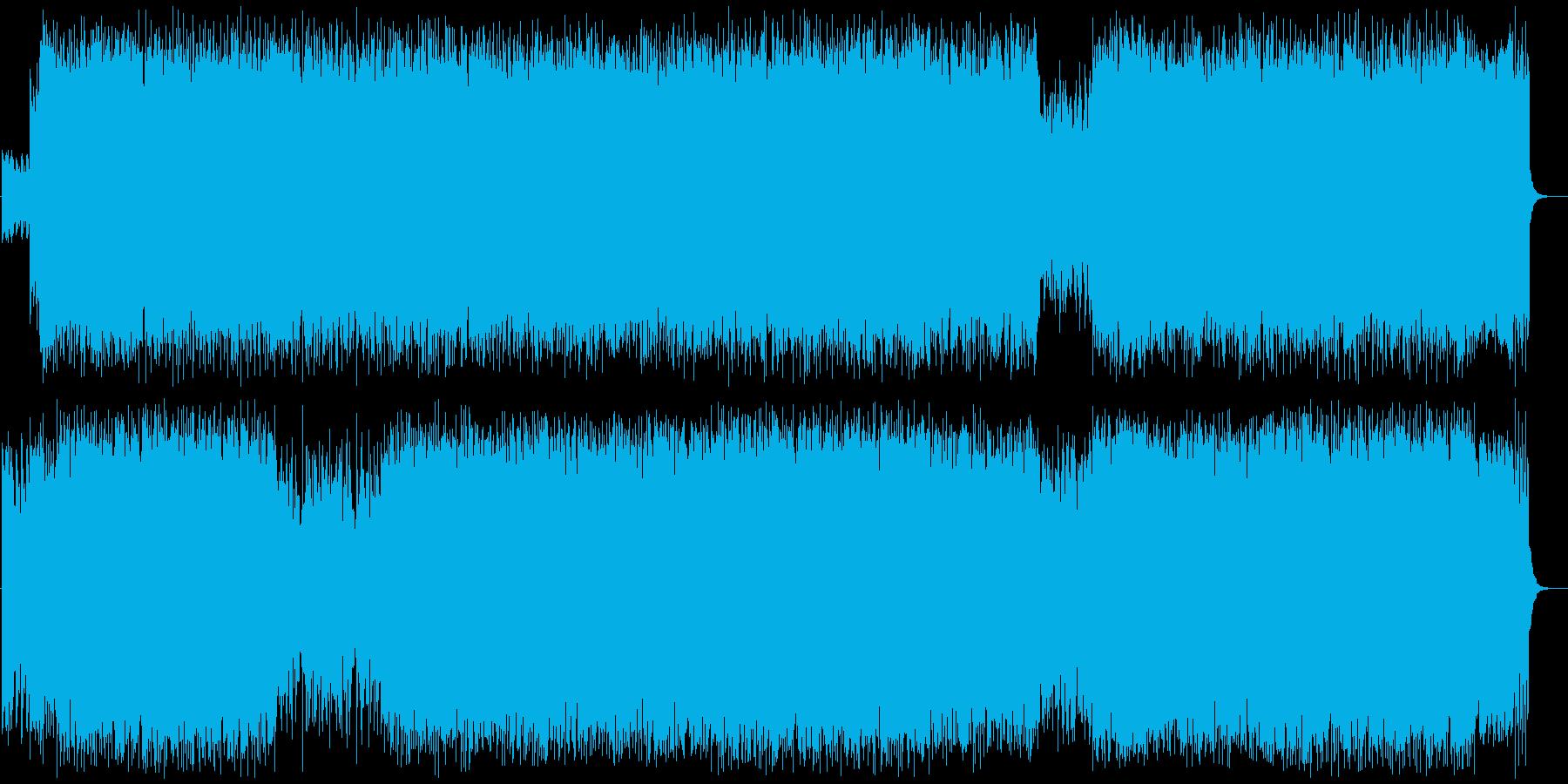 切ないミディアムテンポのロックの再生済みの波形