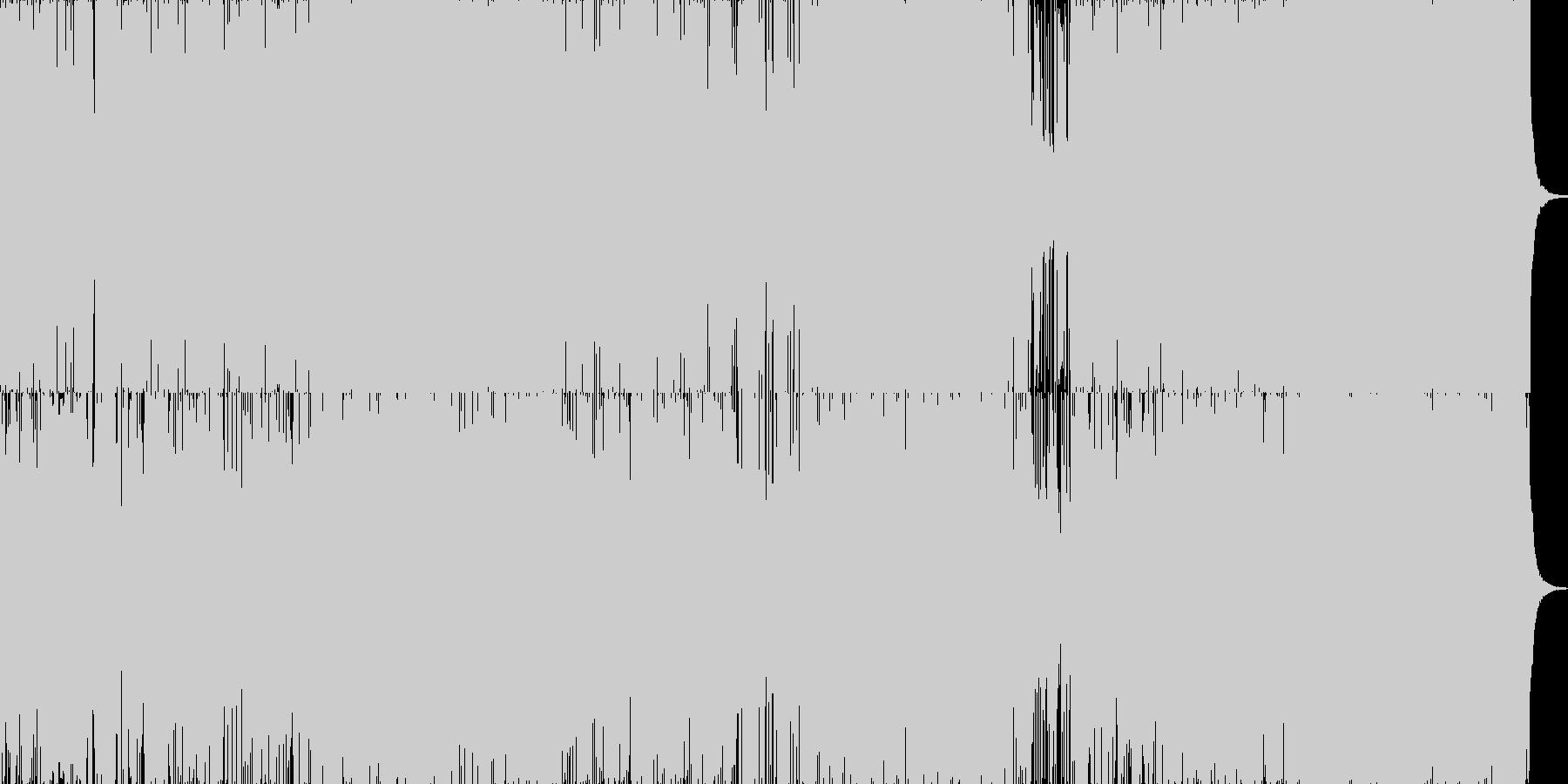ファンク!ジャズ!の未再生の波形