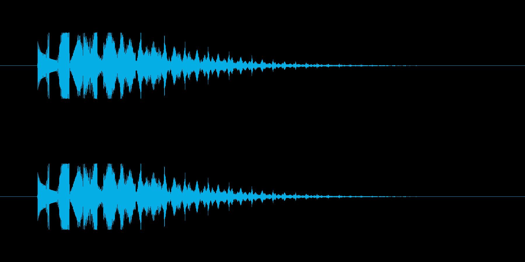 【魔法01-2】の再生済みの波形