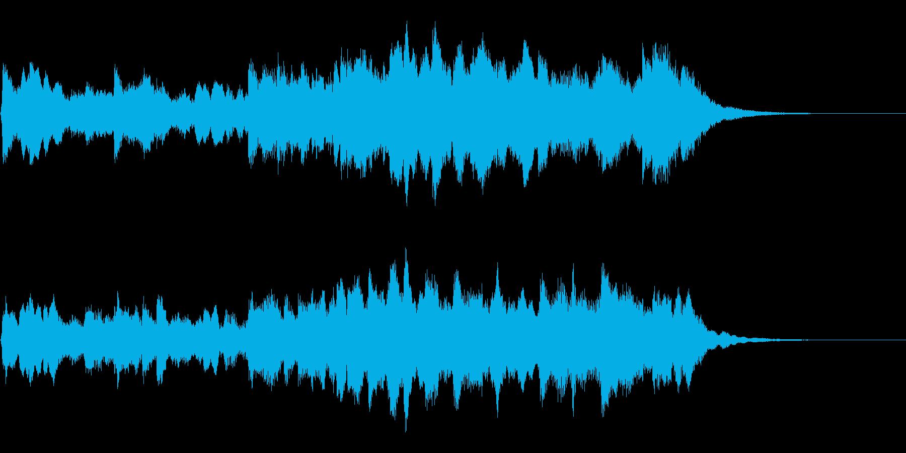 ハープソロ ノスタルジーの再生済みの波形