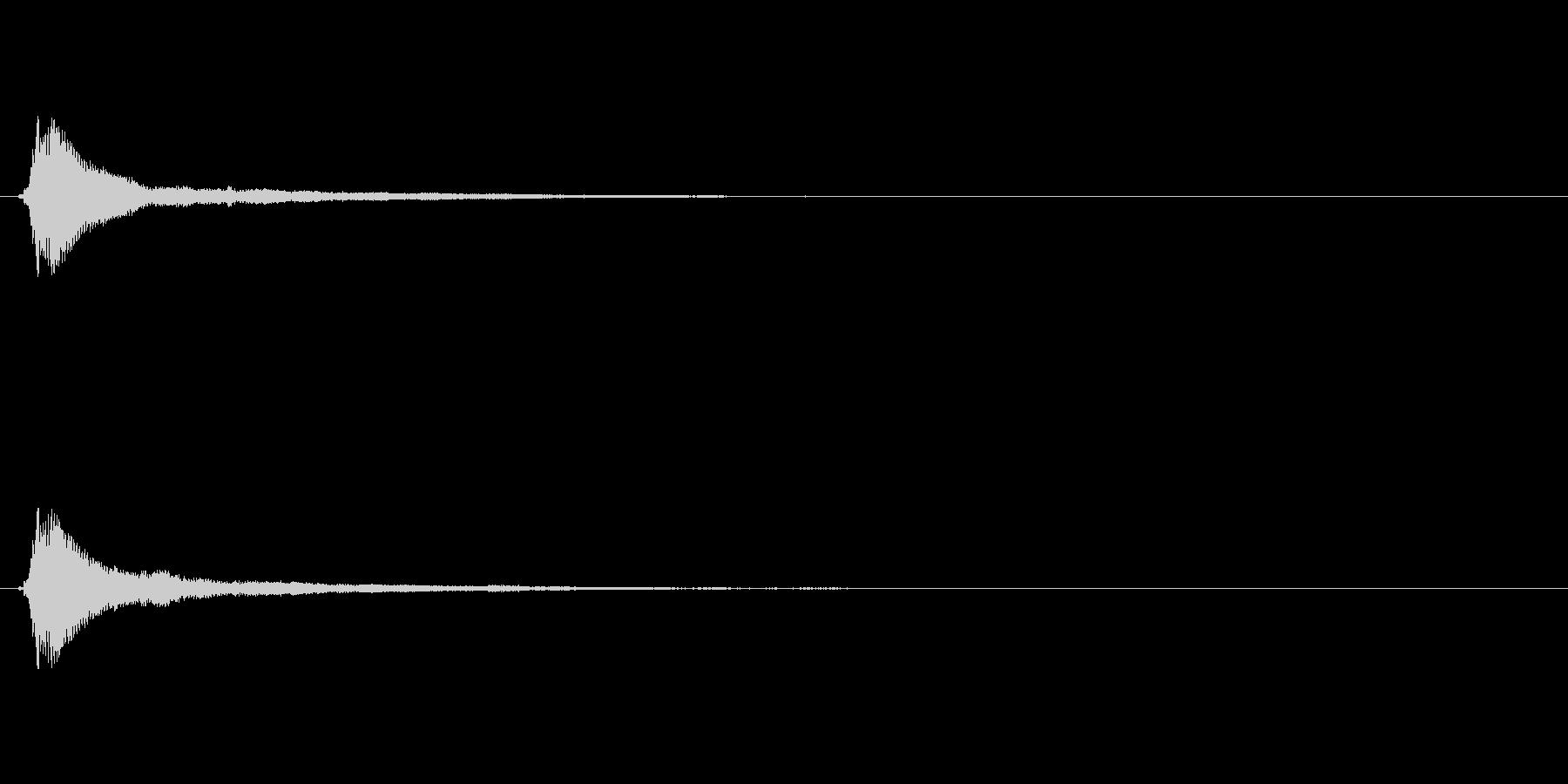 サウンドロゴ(企業ロゴ)_019の未再生の波形