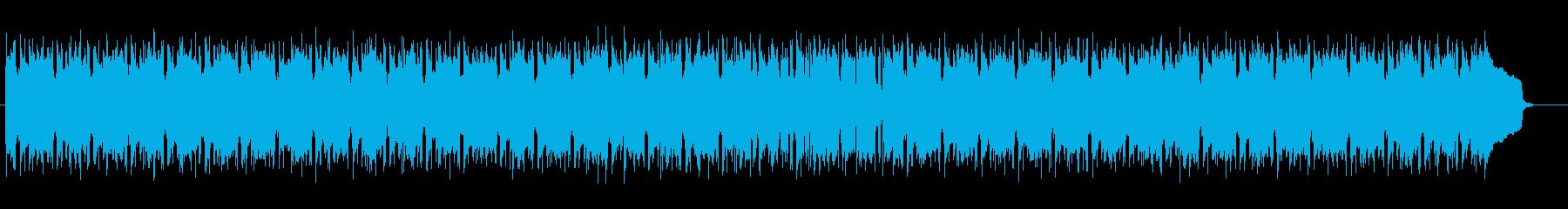 軽快なリズムが特徴の幻想的なポップスの再生済みの波形