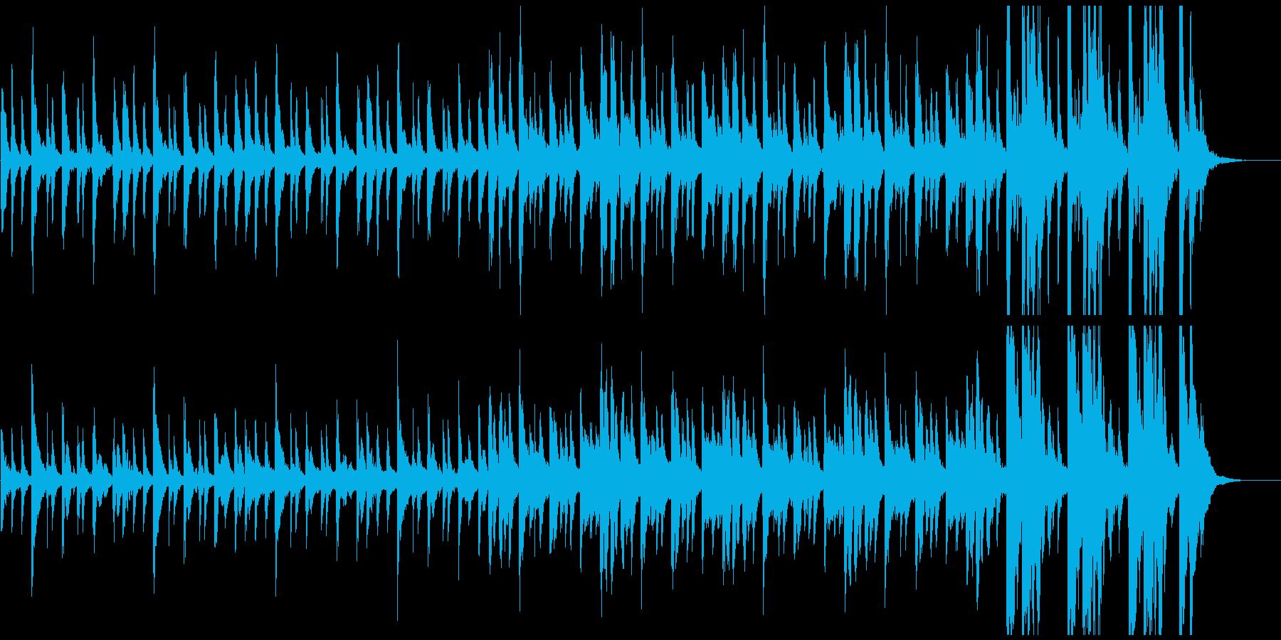 ピチカートが奏でる不思議な雰囲気の3拍子の再生済みの波形