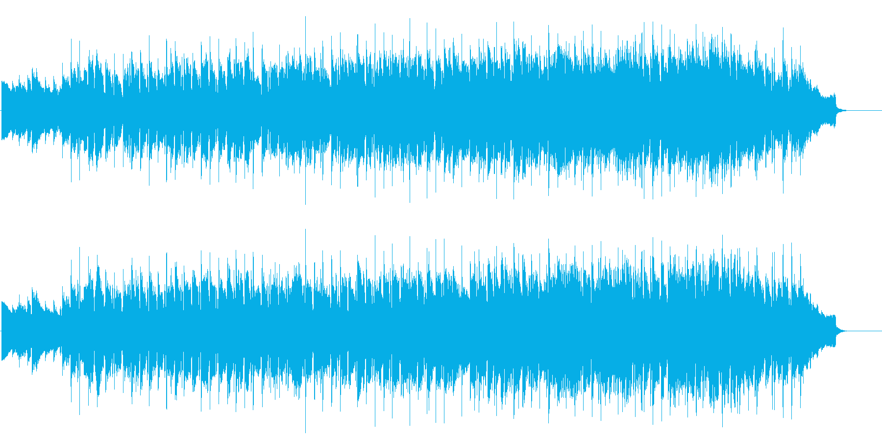 歌謡チックなじんわりウェディングバラードの再生済みの波形