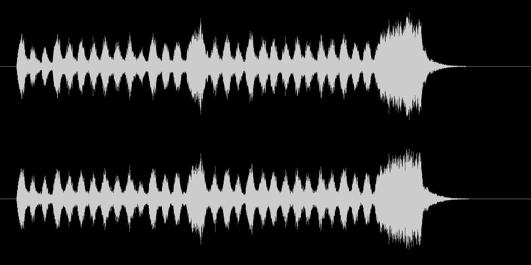 ロシア民謡っぽい着信音の未再生の波形