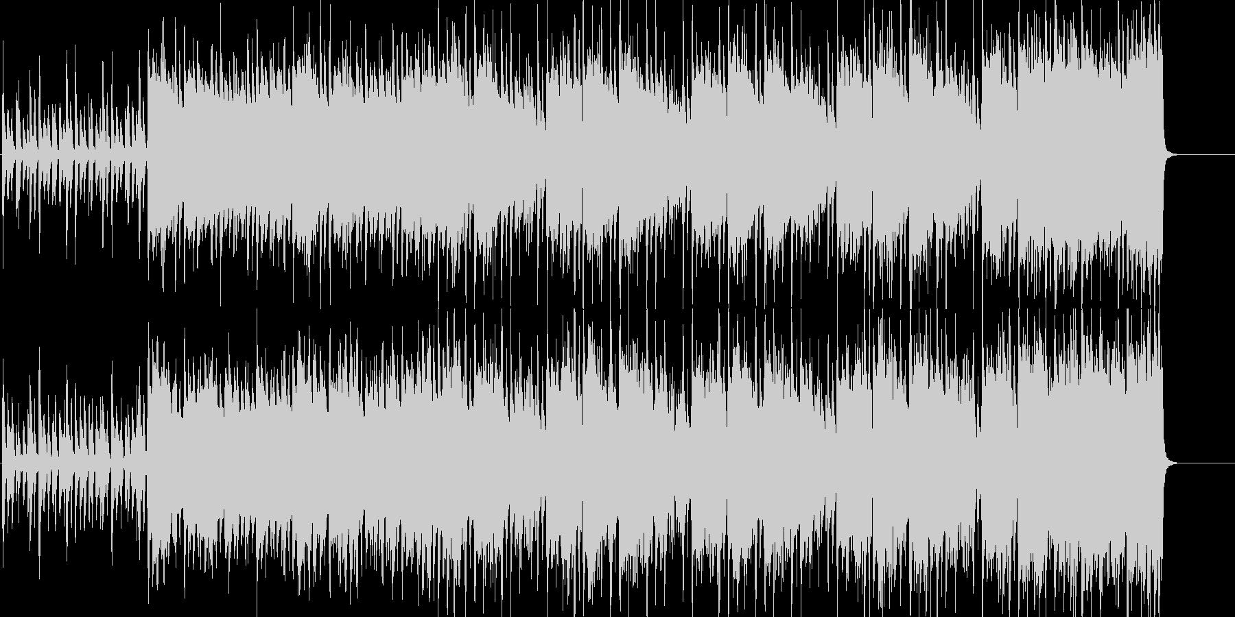 生音系+電子系:クール、エッジ、静と動の未再生の波形