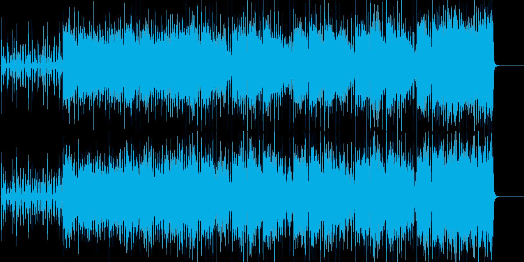 生音系+電子系:クール、エッジ、静と動の再生済みの波形
