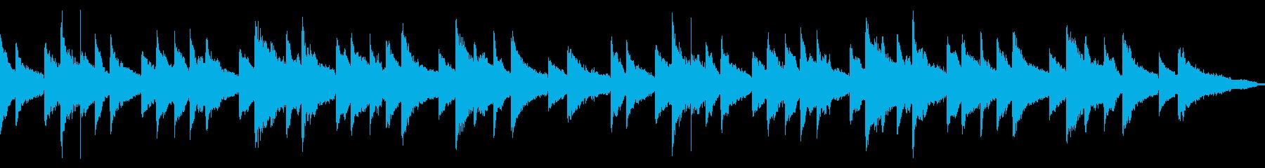 アンニュイなピアノインスト ループ可の再生済みの波形