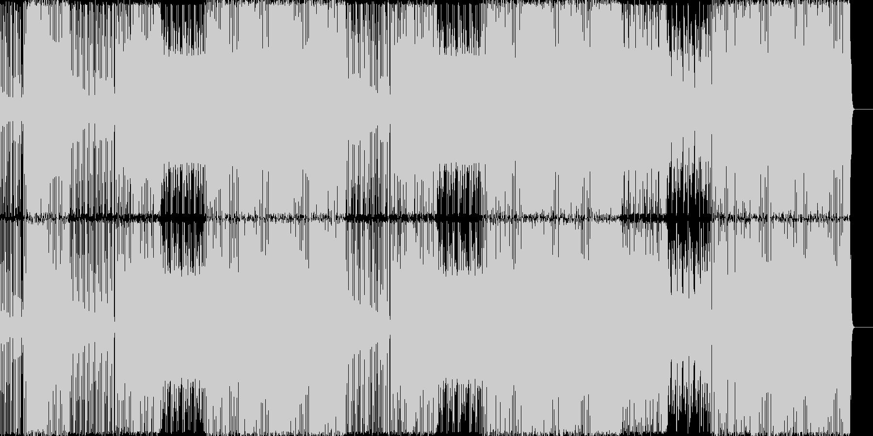 超重低音/ラップビート/パーティーの未再生の波形
